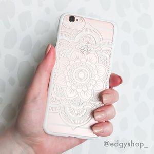 Flower Mandala Hard iPhone Case
